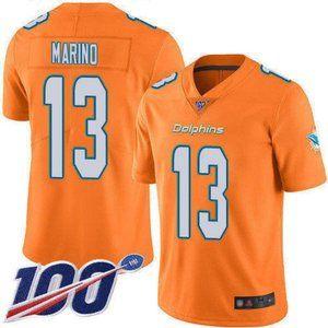 Dolphins Dan Marino 100th Season Jersey 4